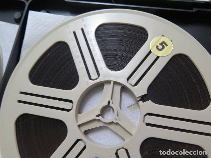 Cine: LA REINA DEL CHANTECLER-LARGOMETRAJE PELÍCULA- SUPER 8 MM- 5 x 180 MTS. RETRO-VINTAGE FILM - Foto 78 - 180168615