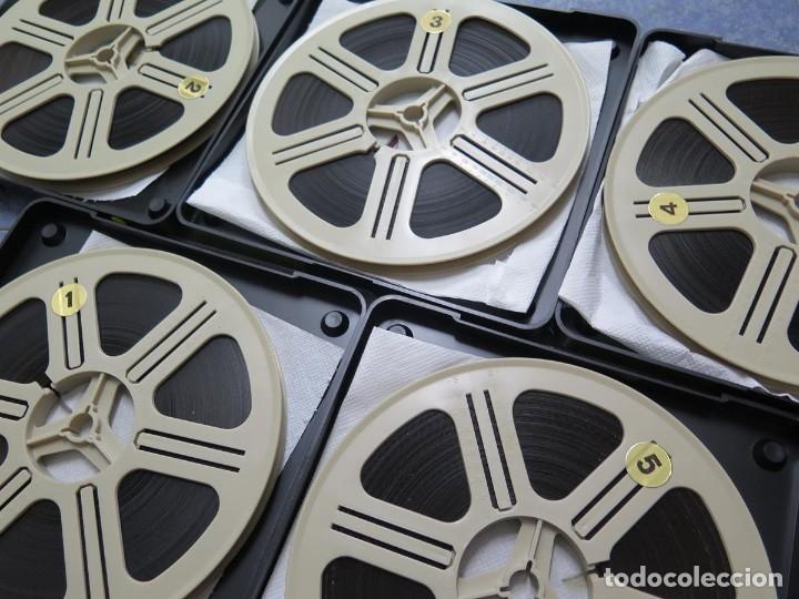 Cine: LA REINA DEL CHANTECLER-LARGOMETRAJE PELÍCULA- SUPER 8 MM- 5 x 180 MTS. RETRO-VINTAGE FILM - Foto 80 - 180168615