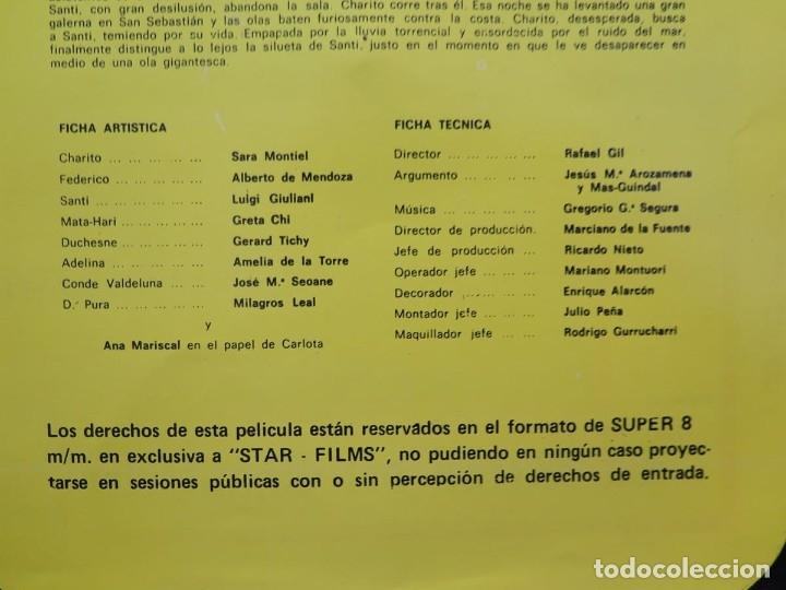 Cine: LA REINA DEL CHANTECLER-LARGOMETRAJE PELÍCULA- SUPER 8 MM- 5 x 180 MTS. RETRO-VINTAGE FILM - Foto 81 - 180168615