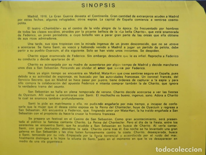 Cine: LA REINA DEL CHANTECLER-LARGOMETRAJE PELÍCULA- SUPER 8 MM- 5 x 180 MTS. RETRO-VINTAGE FILM - Foto 83 - 180168615