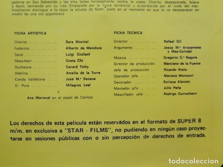 Cine: LA REINA DEL CHANTECLER-LARGOMETRAJE PELÍCULA- SUPER 8 MM- 5 x 180 MTS. RETRO-VINTAGE FILM - Foto 84 - 180168615