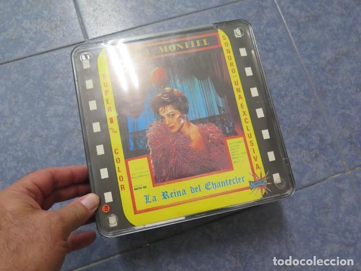Cine: LA REINA DEL CHANTECLER-LARGOMETRAJE PELÍCULA- SUPER 8 MM- 5 x 180 MTS. RETRO-VINTAGE FILM - Foto 86 - 180168615