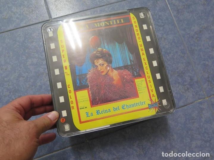 Cine: LA REINA DEL CHANTECLER-LARGOMETRAJE PELÍCULA- SUPER 8 MM- 5 x 180 MTS. RETRO-VINTAGE FILM - Foto 87 - 180168615