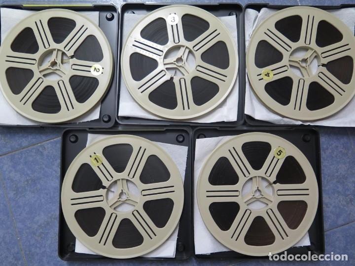 Cine: LA REINA DEL CHANTECLER-LARGOMETRAJE PELÍCULA- SUPER 8 MM- 5 x 180 MTS. RETRO-VINTAGE FILM - Foto 96 - 180168615