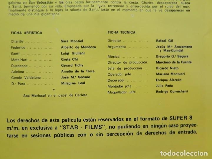 Cine: LA REINA DEL CHANTECLER-LARGOMETRAJE PELÍCULA- SUPER 8 MM- 5 x 180 MTS. RETRO-VINTAGE FILM - Foto 98 - 180168615