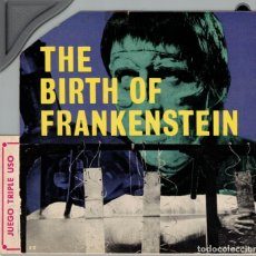 Cine: THE BIRTH OF FRANKENSTEIN - CURIOSA PELÍCULA SUPER 8 QUE INCORPORA MICROSURCO DE SONIDO. Lote 180404598