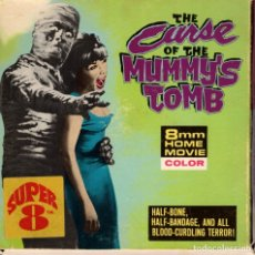 Cine: THE CURSE OF THE MUMMY'S TOMB - PELICULA SUPER 8 . Lote 180506921