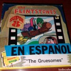 Cine: PELÍCULA SUPER 8 THE FLINTSTONES EN ESPAÑOL THE GRUESOMES. Lote 181039060