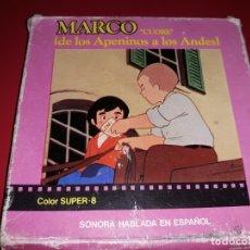 Cine: MARCO DE LOS APENINOS A LOS ANDES COLOR SONORA HABLADA EN ESPAÑOL. Lote 181198898