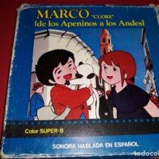 Cine: MARCO DE LOS APENINOS A LOS ANDES COLOR SONORA HABLADA EN ESPAÑOL. Lote 181199355