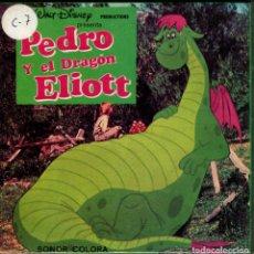 Cine: SUPER 8 ++ PEDRO Y EL DRAGÓN ELLIOT ++ 60METROS. PRECINTADA,DISNEY. Lote 181854537