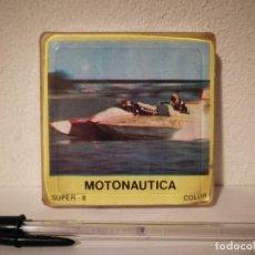 Cine: ANTIGUA PELICULA SUPER 8 MOTONAUTICA - COLOR - NUEVA A ESTRENAR PRECINTADA - IRISCOLOR. Lote 183060865