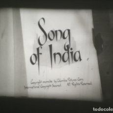 Cine: SUPER 8 ++ SONGS OF INDIA++ 120 METROS CON SABÚ. B/N V.O.. Lote 183311700