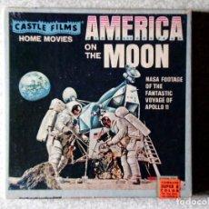 Cinema: AMERICA ON THE MOON.NASA FOOTAGE THE VOYAGE OF APOLLO 11...SUPER 8 COLOR. Lote 183974513