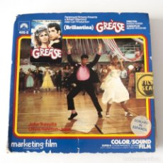 Cine: FUNDA DE SUPER 8 - GREASE BRILLANTINA - JOHN TRAVOLTA OLIVIA NEWTON JOHN -MARKETING FILM - SIN CINTA. Lote 186034043