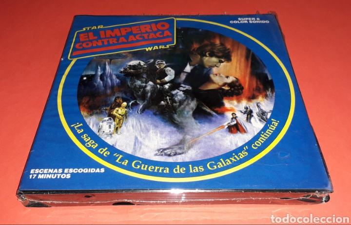 STAR WARS EL IMPERIO CONTRAATACA LA GUERRA DE LAS GALÁXIAS SUPER 8 *PRECINTADA* NUEVA A ESTRENAR. (Cine - Películas - Super 8 mm)
