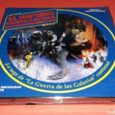 Cine: STAR WARS EL IMPERIO CONTRAATACA LA GUERRA DE LAS GALÁXIAS SUPER 8 *PRECINTADA* NUEVA A ESTRENAR.. Lote 187228255