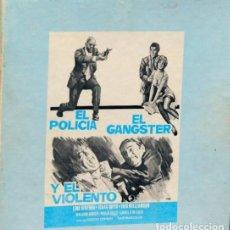 Cine: EL POLICIA EL GÁNGSTER Y EL VIOLENTO (TOUGH GUYS, DUCCIO TESSARI 1974) LINO VENTURA, ISAAC HAYES. Lote 187379820