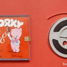 Cine: SÚPER 8 MM.: PORKY PIG (1972, WARNER BROS) DUFFY DETECTIVE ¡ORIGINAL!. Lote 189560136