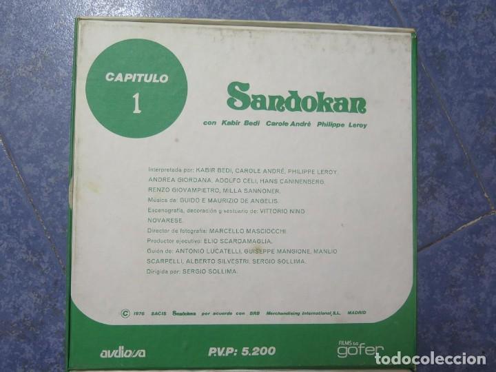 Cine: SANDOKÁN SERIE TV -SUPER 8 MM- 6 x 180 MTS-RETRO-VINTAGE FILM-EXCELLENT-COLOR IMPECABLE - Foto 5 - 189679777