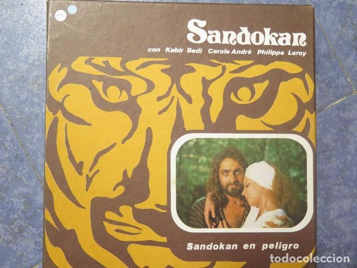 Cine: SANDOKÁN SERIE TV -SUPER 8 MM- 6 x 180 MTS-RETRO-VINTAGE FILM-EXCELLENT-COLOR IMPECABLE - Foto 7 - 189679777