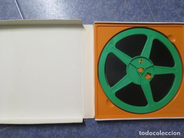 Cine: SANDOKÁN SERIE TV -SUPER 8 MM- 6 x 180 MTS-RETRO-VINTAGE FILM-EXCELLENT-COLOR IMPECABLE - Foto 8 - 189679777