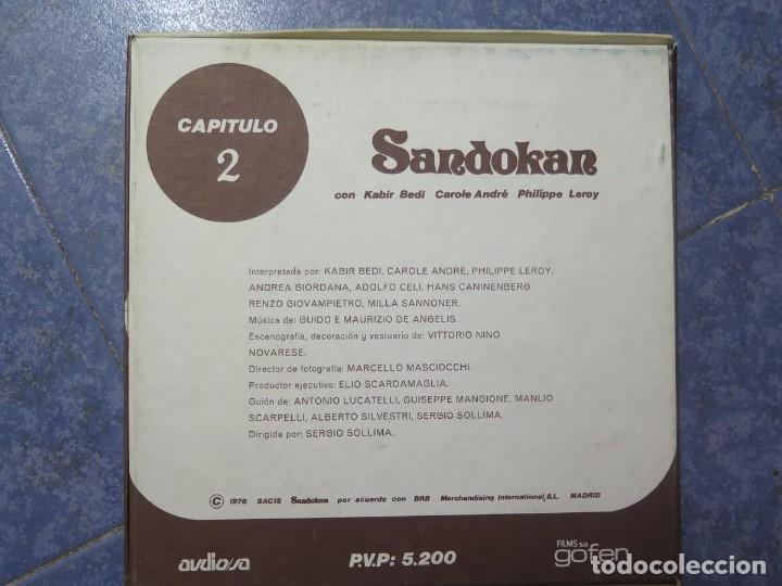 Cine: SANDOKÁN SERIE TV -SUPER 8 MM- 6 x 180 MTS-RETRO-VINTAGE FILM-EXCELLENT-COLOR IMPECABLE - Foto 10 - 189679777