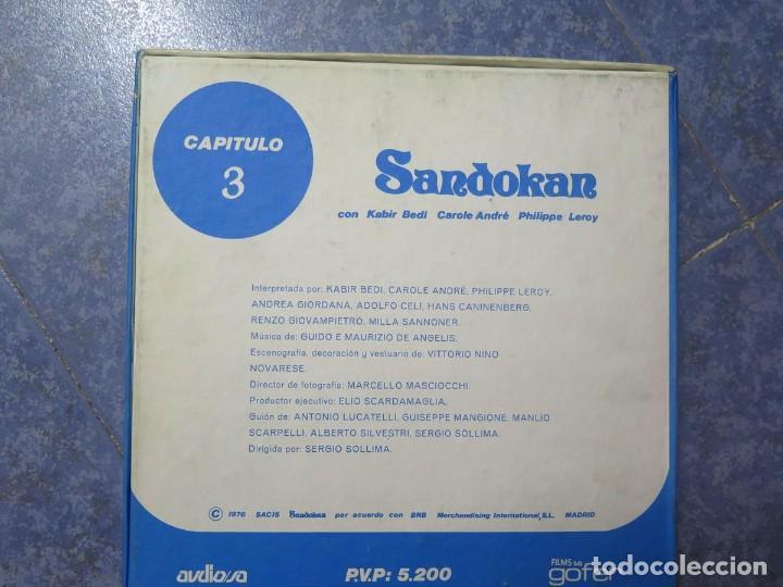 Cine: SANDOKÁN SERIE TV -SUPER 8 MM- 6 x 180 MTS-RETRO-VINTAGE FILM-EXCELLENT-COLOR IMPECABLE - Foto 16 - 189679777