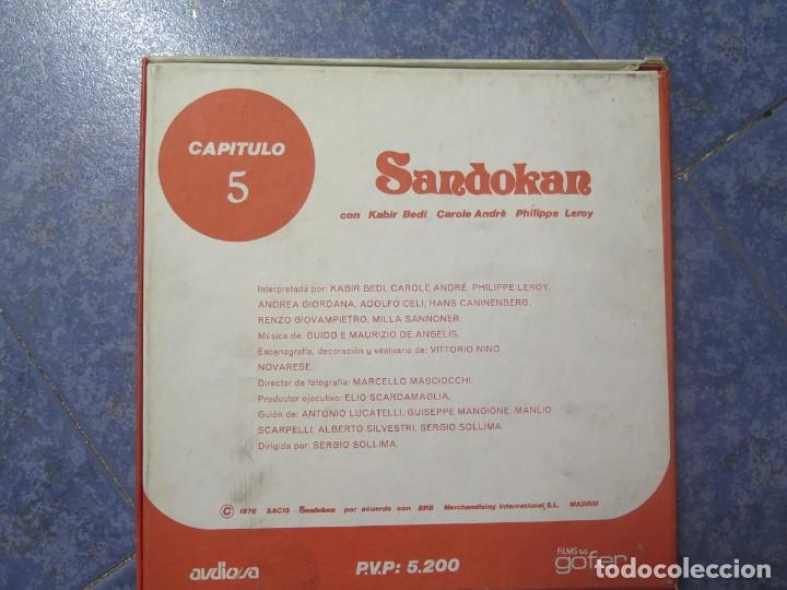 Cine: SANDOKÁN SERIE TV -SUPER 8 MM- 6 x 180 MTS-RETRO-VINTAGE FILM-EXCELLENT-COLOR IMPECABLE - Foto 23 - 189679777