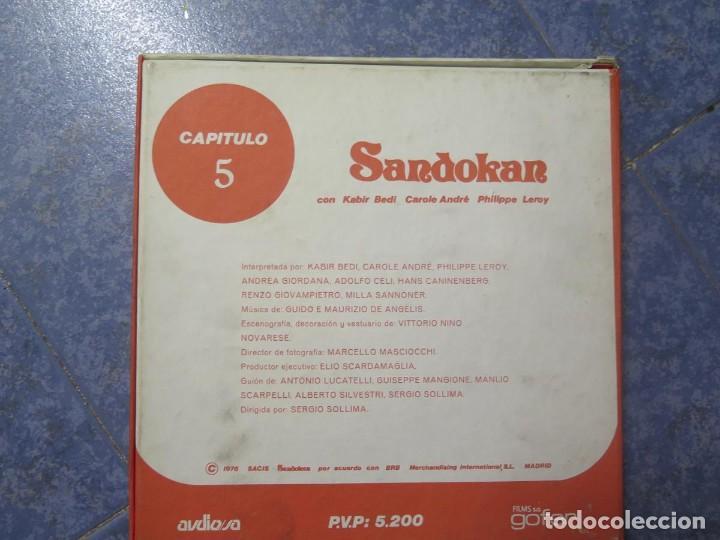 Cine: SANDOKÁN SERIE TV -SUPER 8 MM- 6 x 180 MTS-RETRO-VINTAGE FILM-EXCELLENT-COLOR IMPECABLE - Foto 24 - 189679777