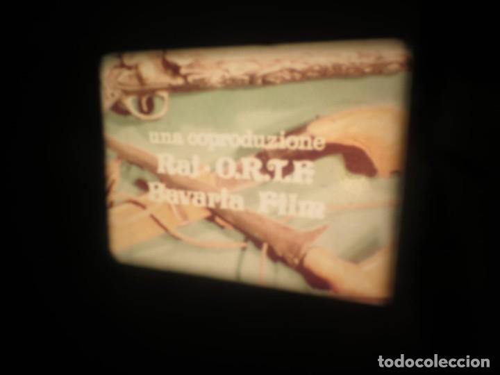 Cine: SANDOKÁN SERIE TV -SUPER 8 MM- 6 x 180 MTS-RETRO-VINTAGE FILM-EXCELLENT-COLOR IMPECABLE - Foto 38 - 189679777