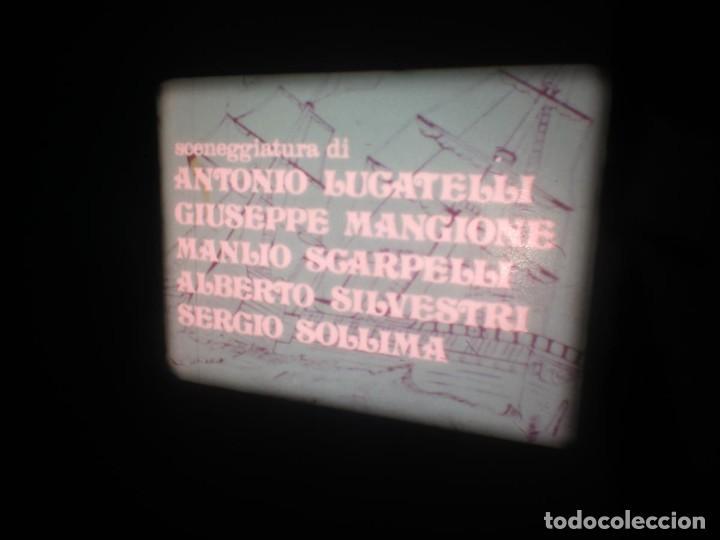 Cine: SANDOKÁN SERIE TV -SUPER 8 MM- 6 x 180 MTS-RETRO-VINTAGE FILM-EXCELLENT-COLOR IMPECABLE - Foto 42 - 189679777