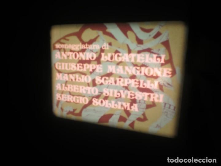 Cine: SANDOKÁN SERIE TV -SUPER 8 MM- 6 x 180 MTS-RETRO-VINTAGE FILM-EXCELLENT-COLOR IMPECABLE - Foto 43 - 189679777