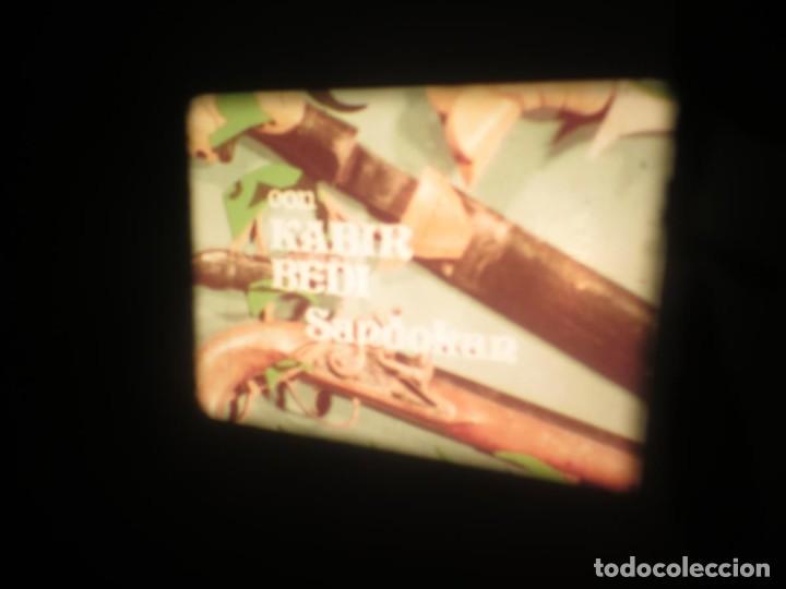 Cine: SANDOKÁN SERIE TV -SUPER 8 MM- 6 x 180 MTS-RETRO-VINTAGE FILM-EXCELLENT-COLOR IMPECABLE - Foto 45 - 189679777