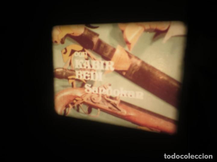 Cine: SANDOKÁN SERIE TV -SUPER 8 MM- 6 x 180 MTS-RETRO-VINTAGE FILM-EXCELLENT-COLOR IMPECABLE - Foto 46 - 189679777