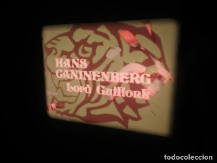 Cine: SANDOKÁN SERIE TV -SUPER 8 MM- 6 x 180 MTS-RETRO-VINTAGE FILM-EXCELLENT-COLOR IMPECABLE - Foto 52 - 189679777