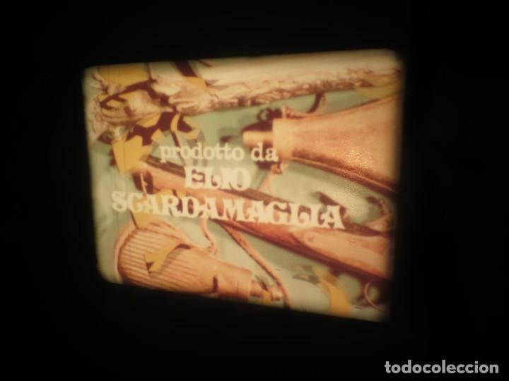 Cine: SANDOKÁN SERIE TV -SUPER 8 MM- 6 x 180 MTS-RETRO-VINTAGE FILM-EXCELLENT-COLOR IMPECABLE - Foto 64 - 189679777