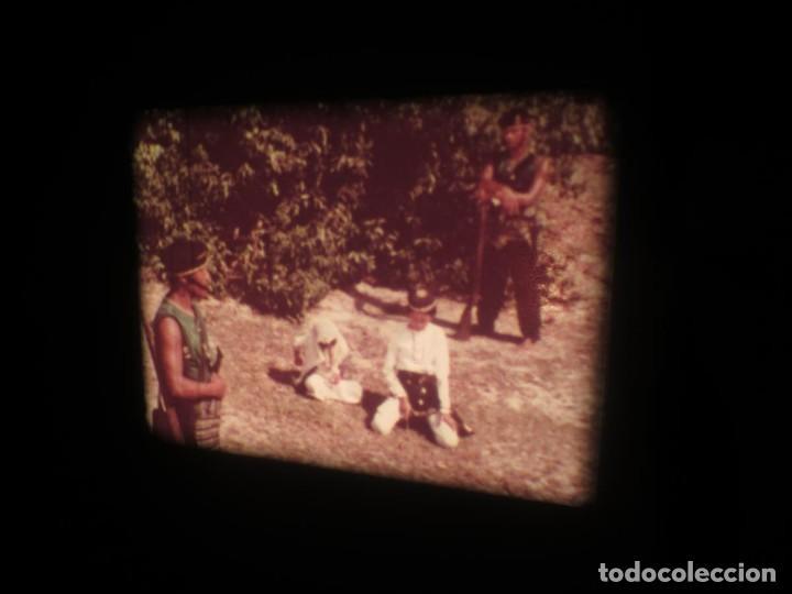 Cine: SANDOKÁN SERIE TV -SUPER 8 MM- 6 x 180 MTS-RETRO-VINTAGE FILM-EXCELLENT-COLOR IMPECABLE - Foto 89 - 189679777