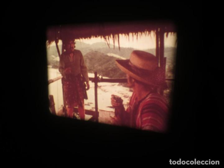 Cine: SANDOKÁN SERIE TV -SUPER 8 MM- 6 x 180 MTS-RETRO-VINTAGE FILM-EXCELLENT-COLOR IMPECABLE - Foto 109 - 189679777
