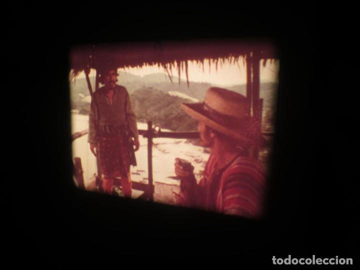 Cine: SANDOKÁN SERIE TV -SUPER 8 MM- 6 x 180 MTS-RETRO-VINTAGE FILM-EXCELLENT-COLOR IMPECABLE - Foto 110 - 189679777
