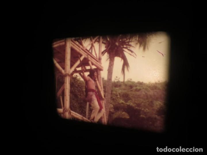 Cine: SANDOKÁN SERIE TV -SUPER 8 MM- 6 x 180 MTS-RETRO-VINTAGE FILM-EXCELLENT-COLOR IMPECABLE - Foto 121 - 189679777