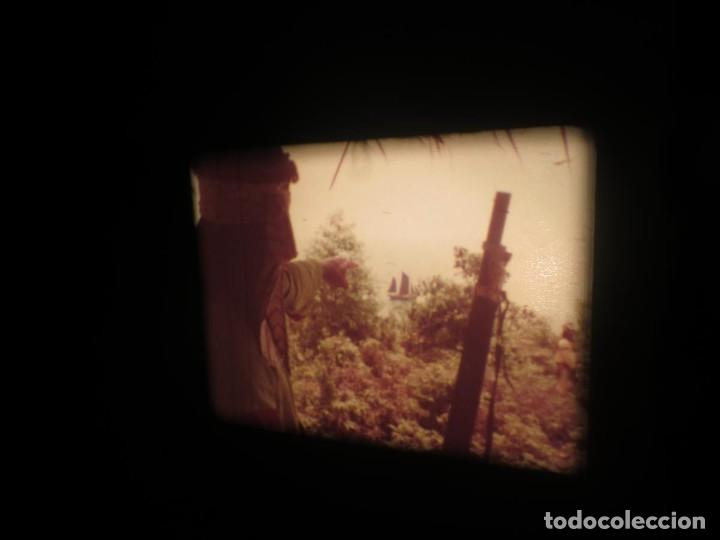 Cine: SANDOKÁN SERIE TV -SUPER 8 MM- 6 x 180 MTS-RETRO-VINTAGE FILM-EXCELLENT-COLOR IMPECABLE - Foto 125 - 189679777