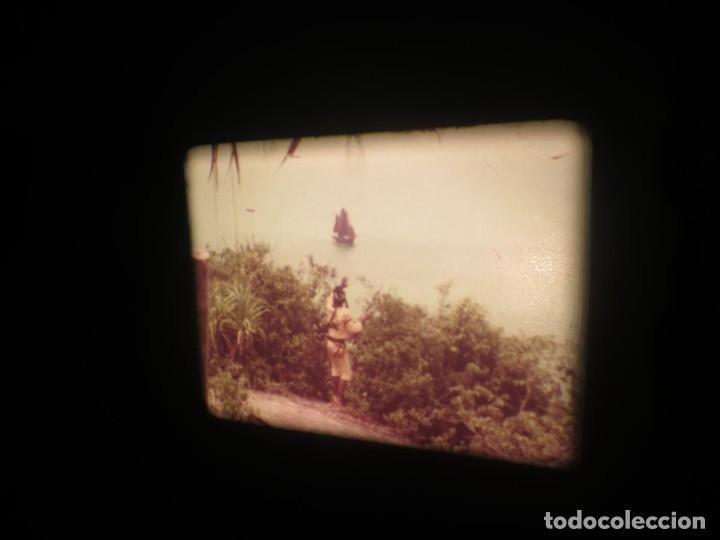 Cine: SANDOKÁN SERIE TV -SUPER 8 MM- 6 x 180 MTS-RETRO-VINTAGE FILM-EXCELLENT-COLOR IMPECABLE - Foto 126 - 189679777