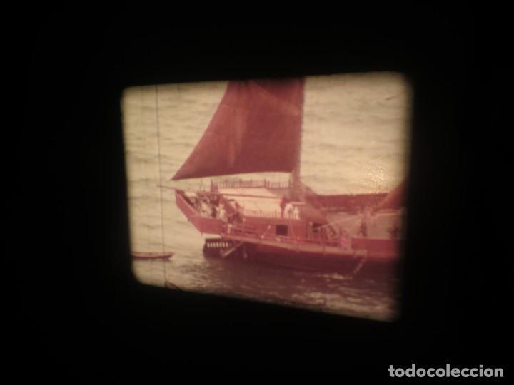 Cine: SANDOKÁN SERIE TV -SUPER 8 MM- 6 x 180 MTS-RETRO-VINTAGE FILM-EXCELLENT-COLOR IMPECABLE - Foto 136 - 189679777
