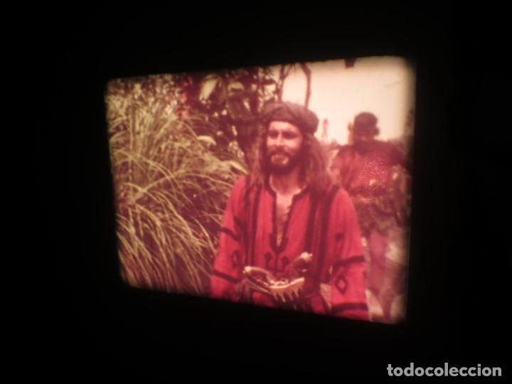 Cine: SANDOKÁN SERIE TV -SUPER 8 MM- 6 x 180 MTS-RETRO-VINTAGE FILM-EXCELLENT-COLOR IMPECABLE - Foto 141 - 189679777