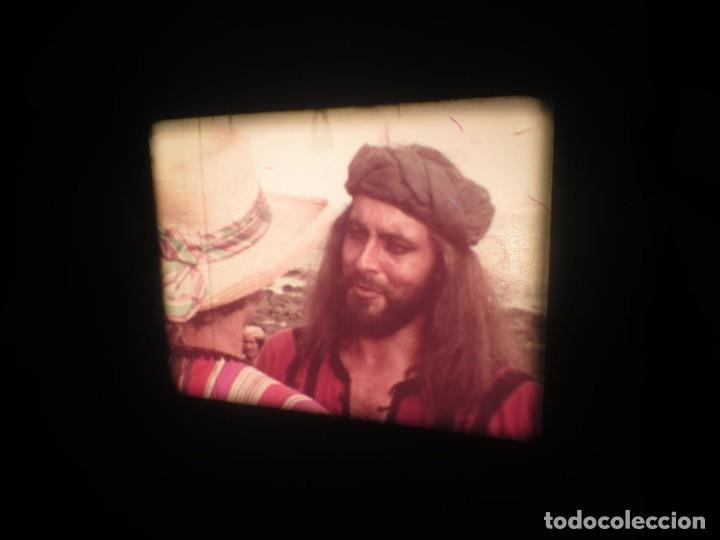 Cine: SANDOKÁN SERIE TV -SUPER 8 MM- 6 x 180 MTS-RETRO-VINTAGE FILM-EXCELLENT-COLOR IMPECABLE - Foto 146 - 189679777