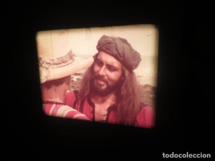 Cine: SANDOKÁN SERIE TV -SUPER 8 MM- 6 x 180 MTS-RETRO-VINTAGE FILM-EXCELLENT-COLOR IMPECABLE - Foto 148 - 189679777