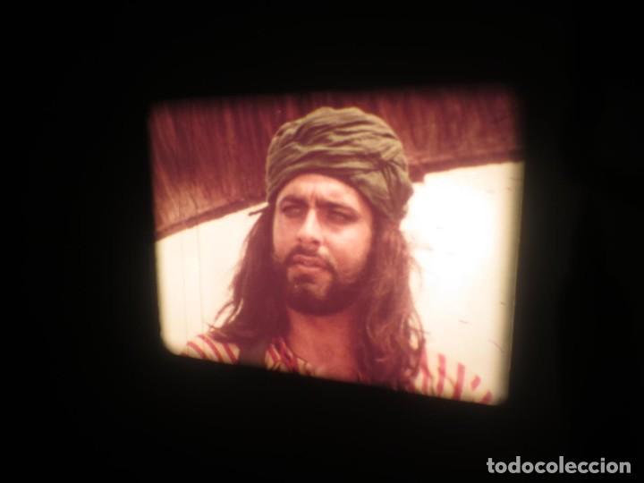 Cine: SANDOKÁN SERIE TV -SUPER 8 MM- 6 x 180 MTS-RETRO-VINTAGE FILM-EXCELLENT-COLOR IMPECABLE - Foto 152 - 189679777