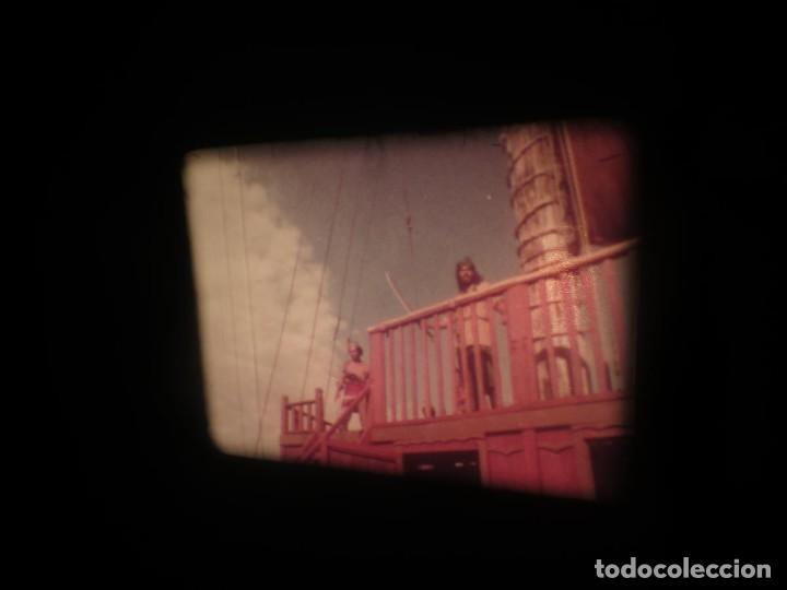 Cine: SANDOKÁN SERIE TV -SUPER 8 MM- 6 x 180 MTS-RETRO-VINTAGE FILM-EXCELLENT-COLOR IMPECABLE - Foto 157 - 189679777