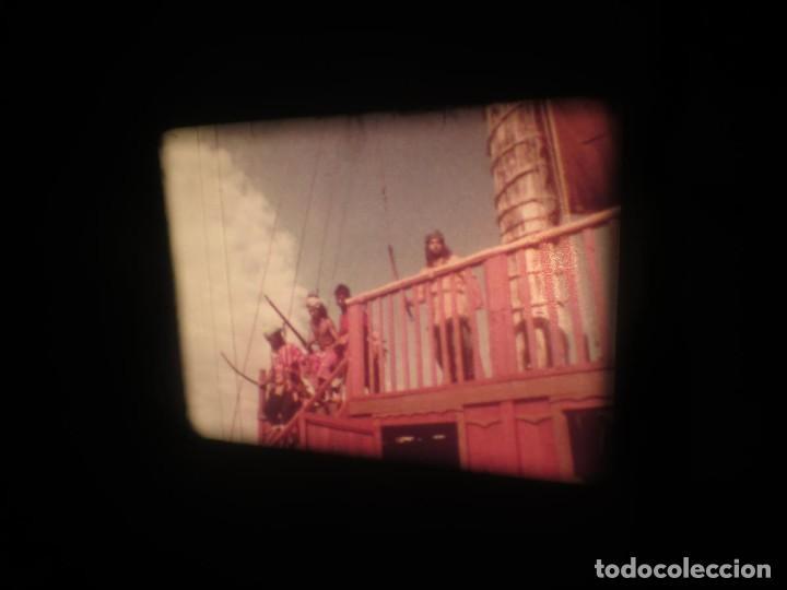 Cine: SANDOKÁN SERIE TV -SUPER 8 MM- 6 x 180 MTS-RETRO-VINTAGE FILM-EXCELLENT-COLOR IMPECABLE - Foto 158 - 189679777
